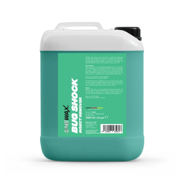 BUG SHOCK INSECT REMOVER 5 LITER
